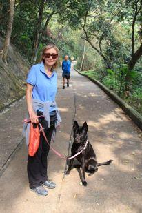 Tangs walk up the Peak