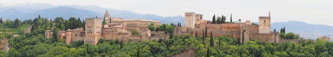 Alcala La Real 20170516_Alhambra Panorama for San Vincent Mirador 2