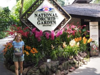 National Orchid Garden within the Botanical Gardens