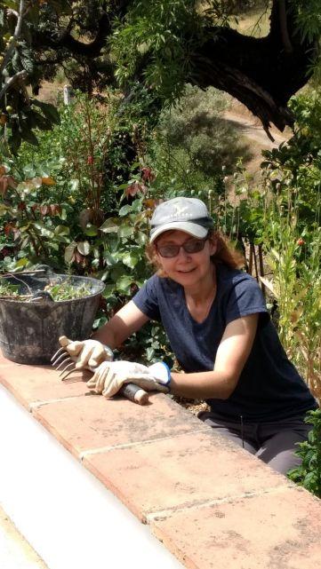 Gardening in Spain